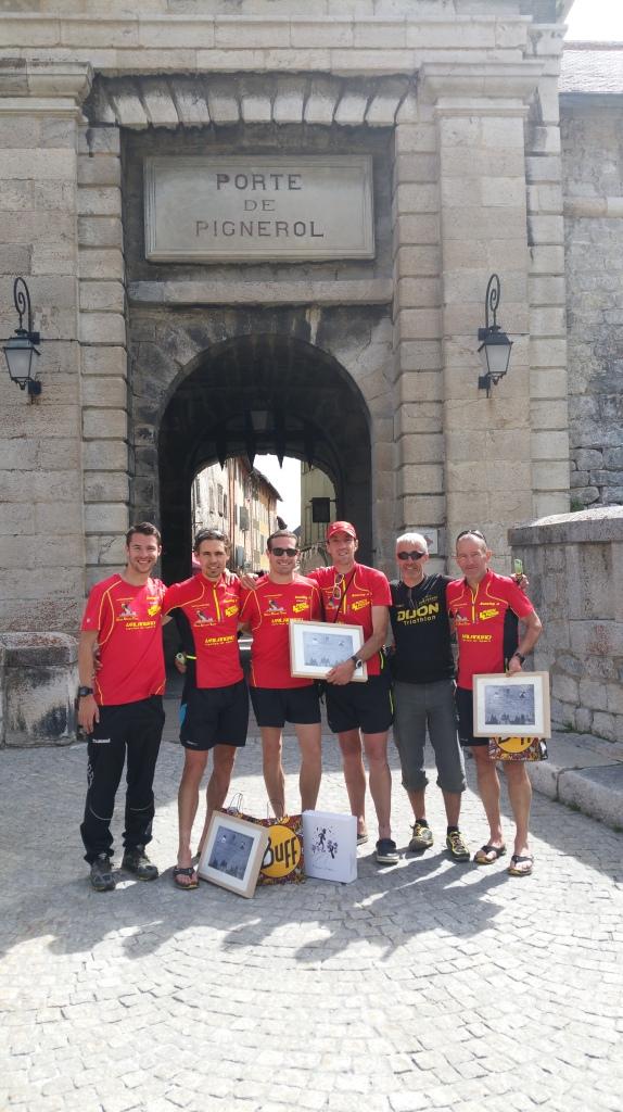 La Dijon Dream Team au complet sous la Porte de Pignerol